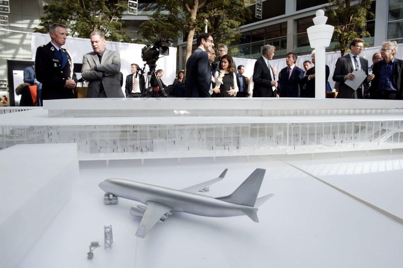 In 2017 werd het ontwerp van de nieuwe terminal gepresenteerd.