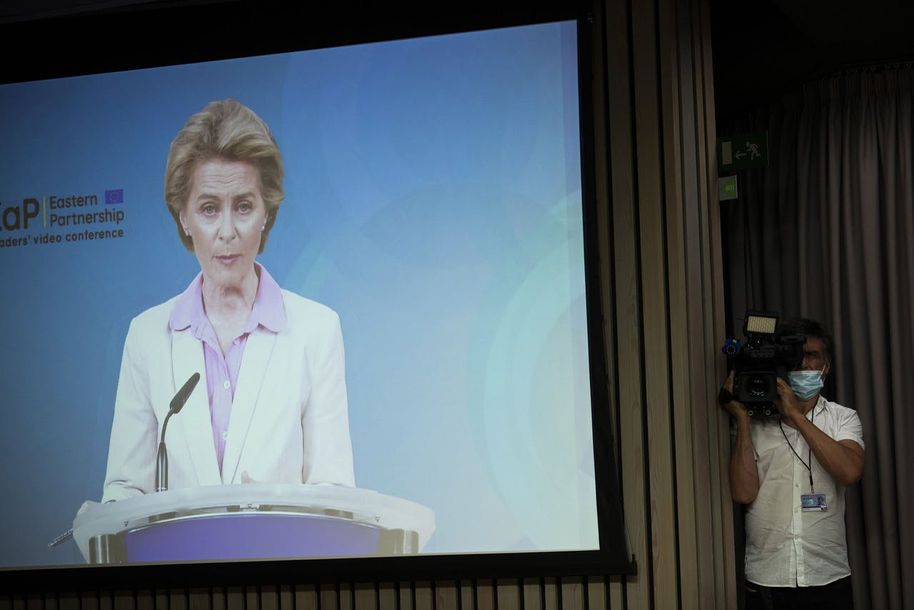 EU-president Ursula von der Leyen