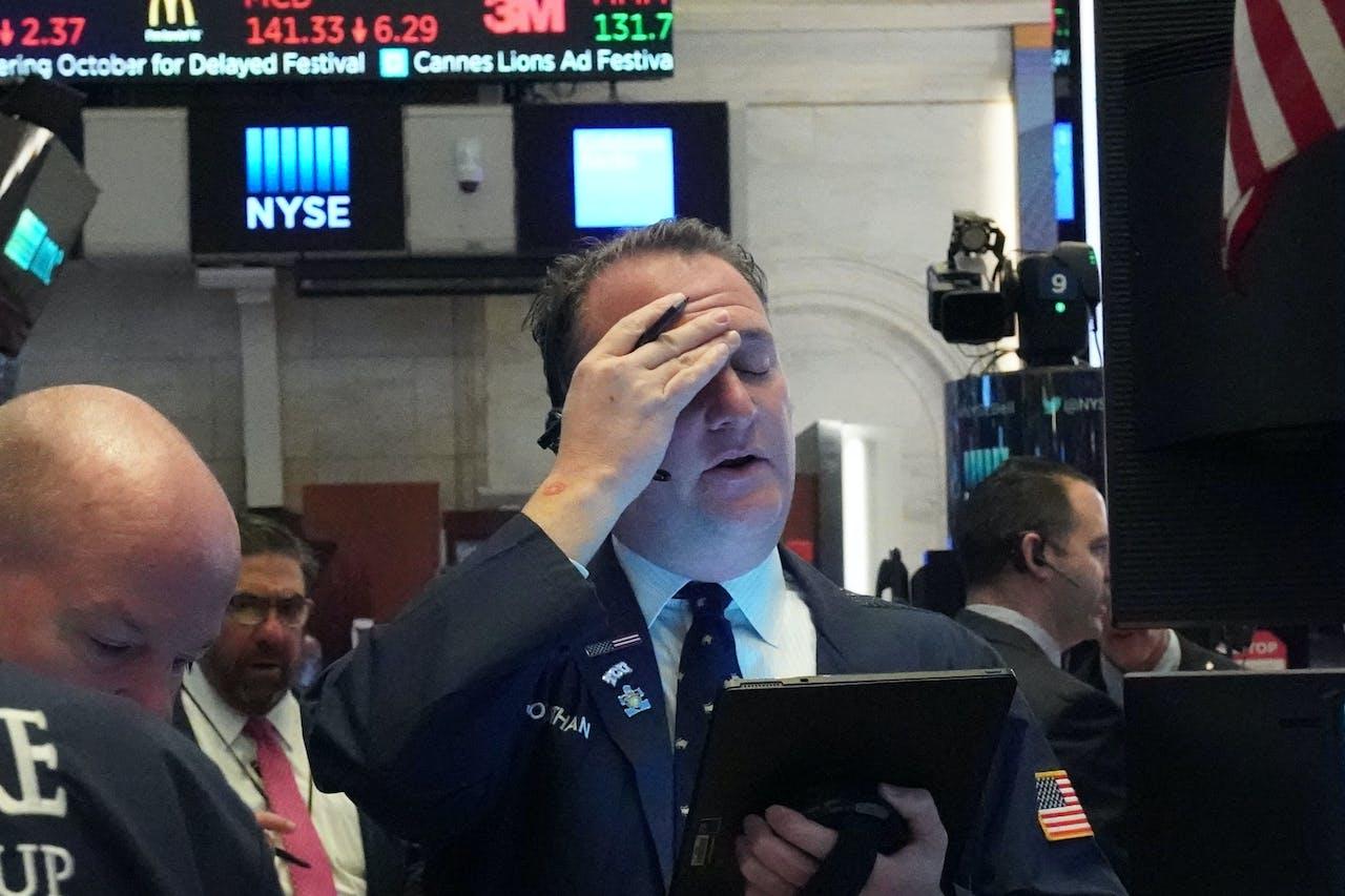 De opening van de New York Stock Exchange
