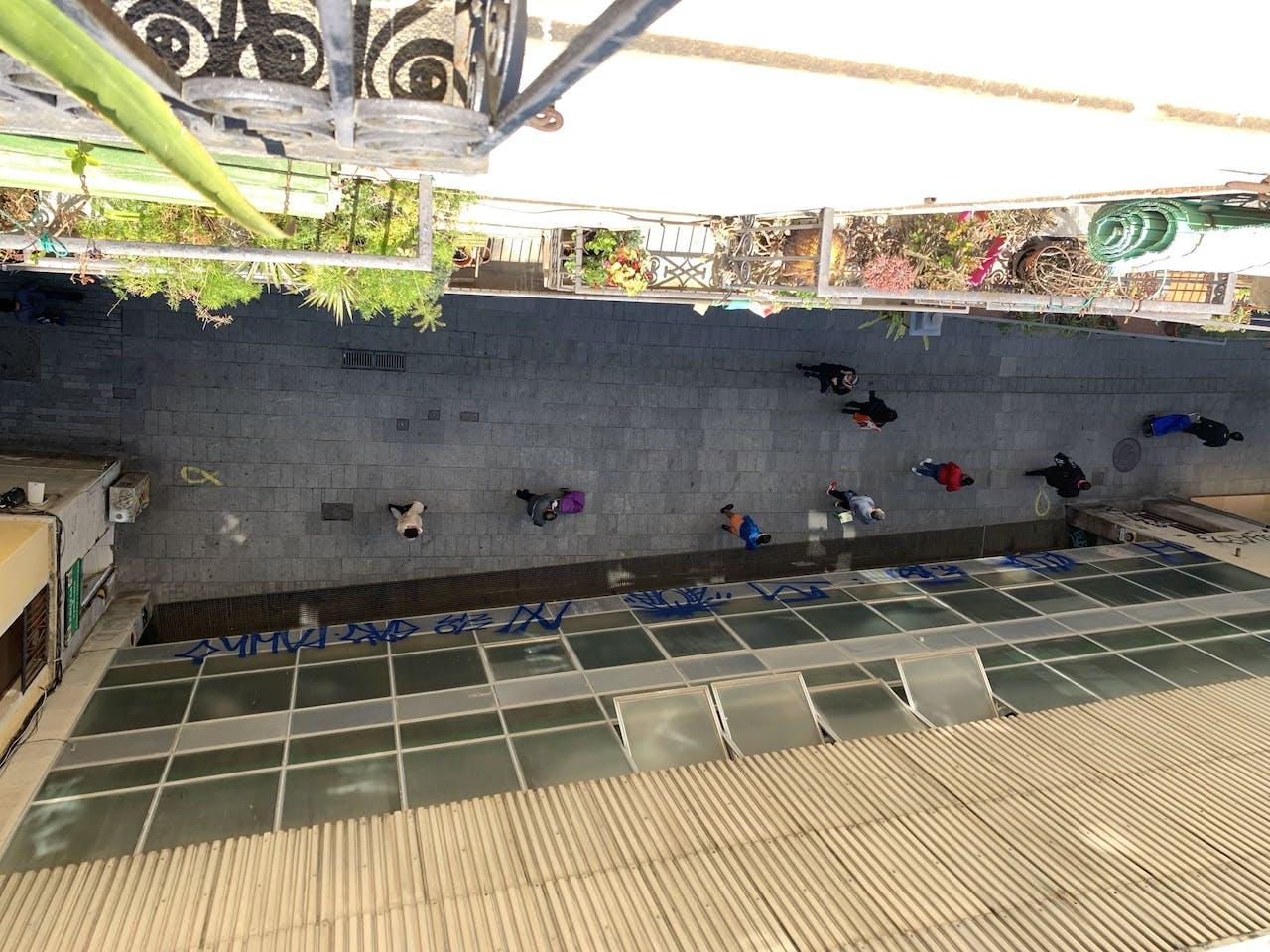 Lockdown in Barcelona