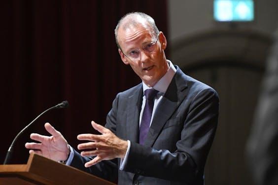 Klaas Knot, de president van De Nederlandsche Bank