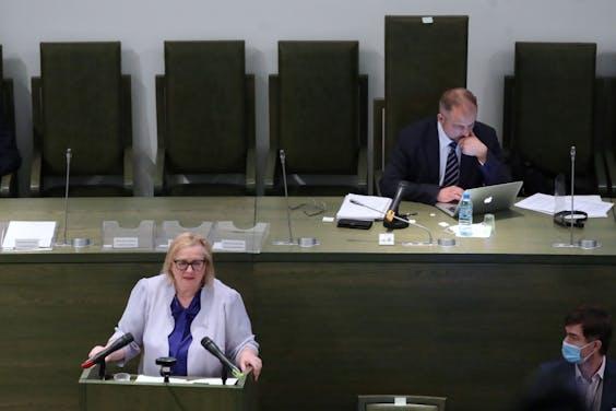 De Poolse Supreme Court-rechter Malgorzata Manowska