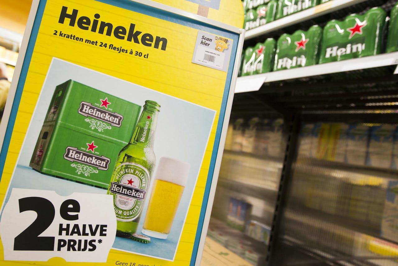 Heineken doet het niet alleen in Nederlandse supermarkten goed.