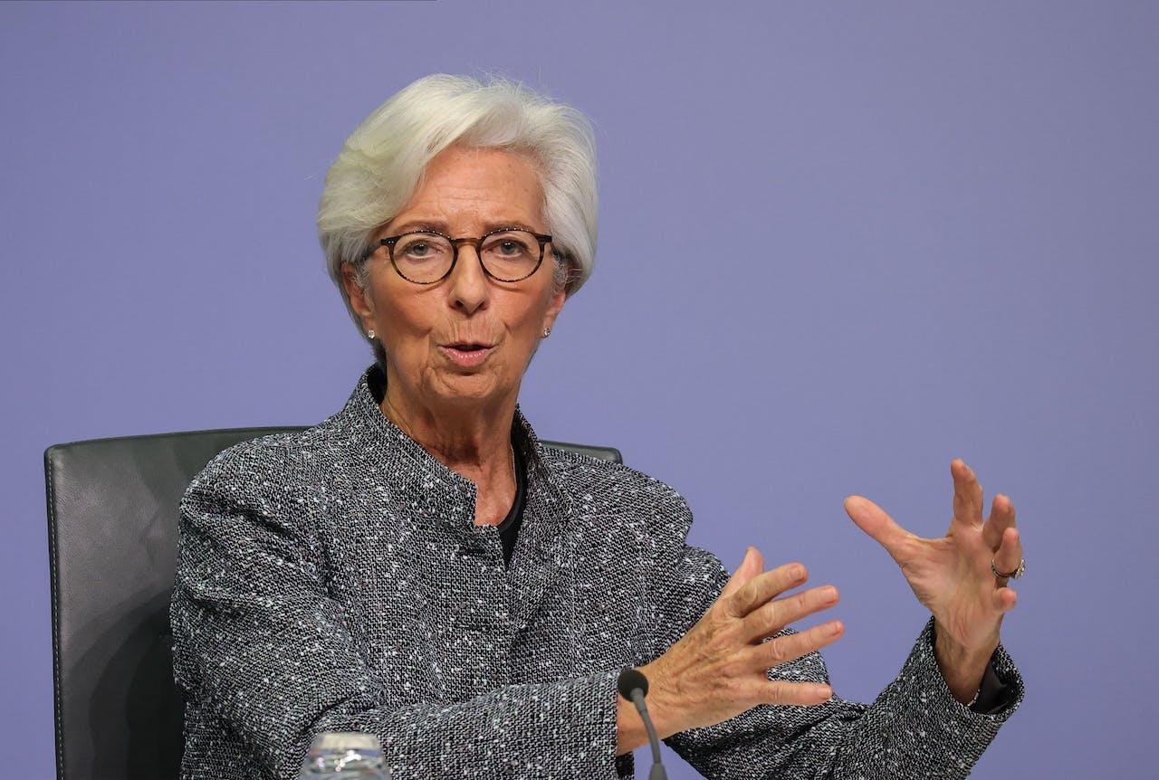 ECP-president Christine Lagarde