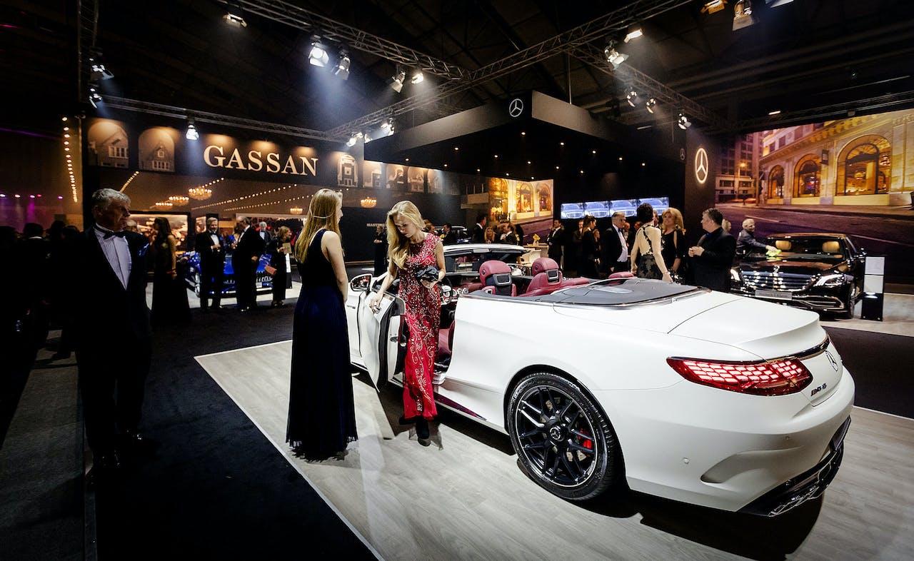 De Nationale Autoshow live vanaf de Masters of LXRY in de RAI Amsterdam