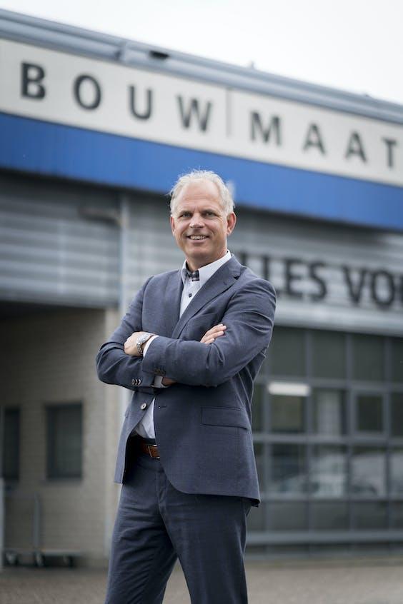 Algemeen directeur Rob Klifman van Bouwmaat