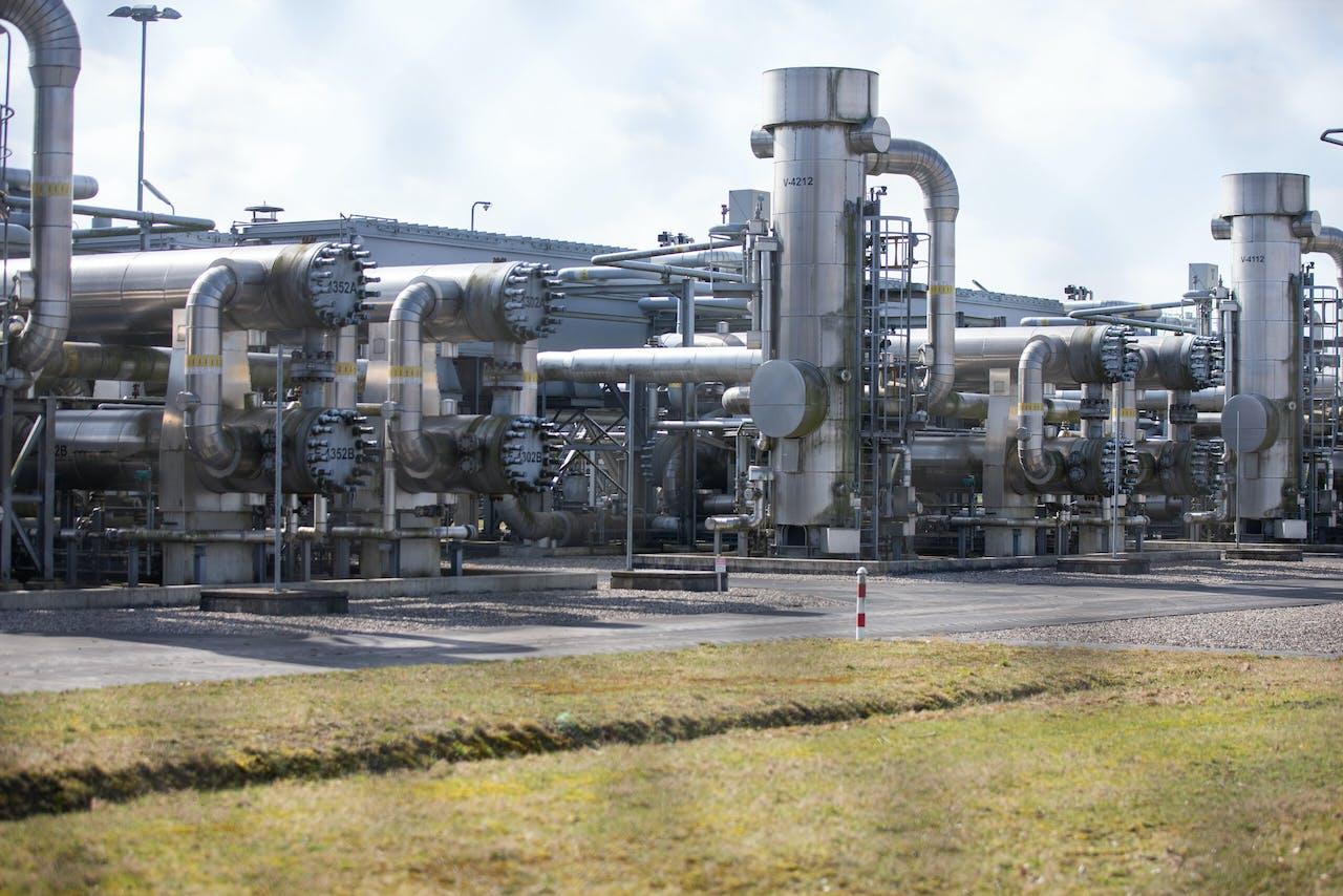Aardgaswinning in Slochteren. Credit ANP / Hollandse Hoogte / Harold Versteeg