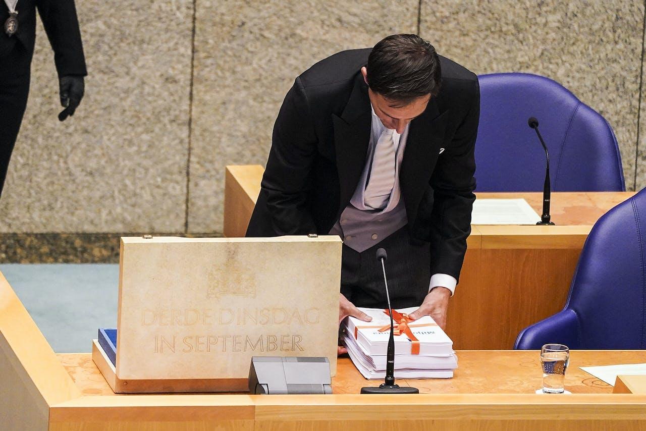 Minister Wopke Hoekstra (Financien)