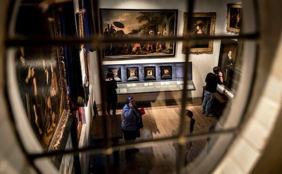 Het Rembrandthuis in Amsterdam.