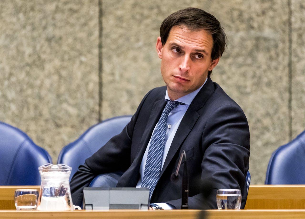 DEN HAAG - Minister Wopke Hoekstra (Financien)