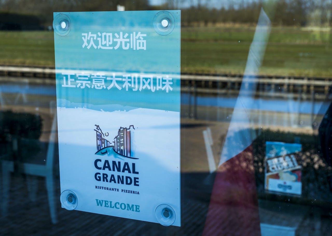 Het zal nog even duren voordat de Chinese bezoeker Giethoorn weer kan aandoen.ANP LEX VAN LIESHOUT