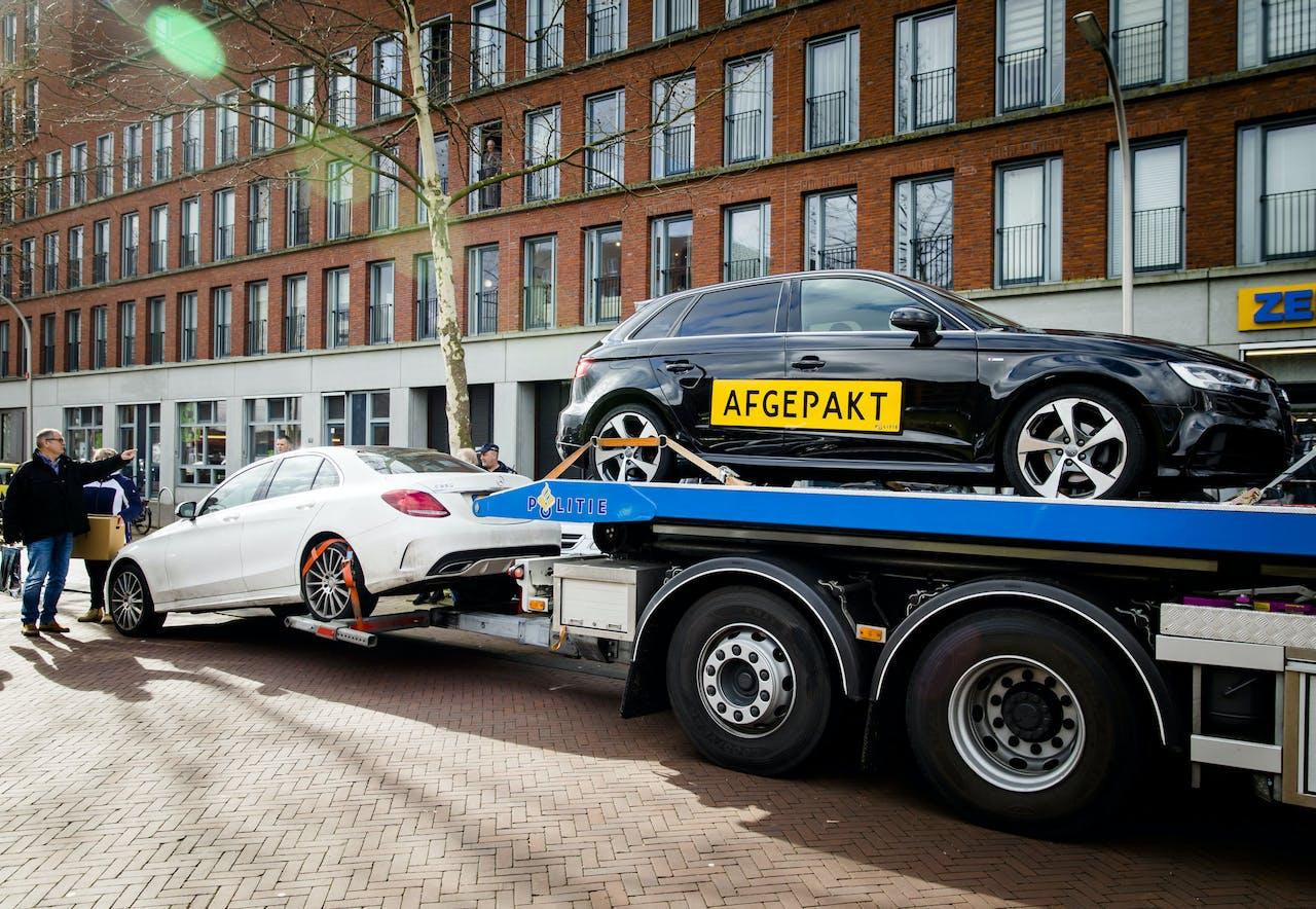 Actie van politie, OM, de FIOD, Belastingdienst en de gemeente Den Haag