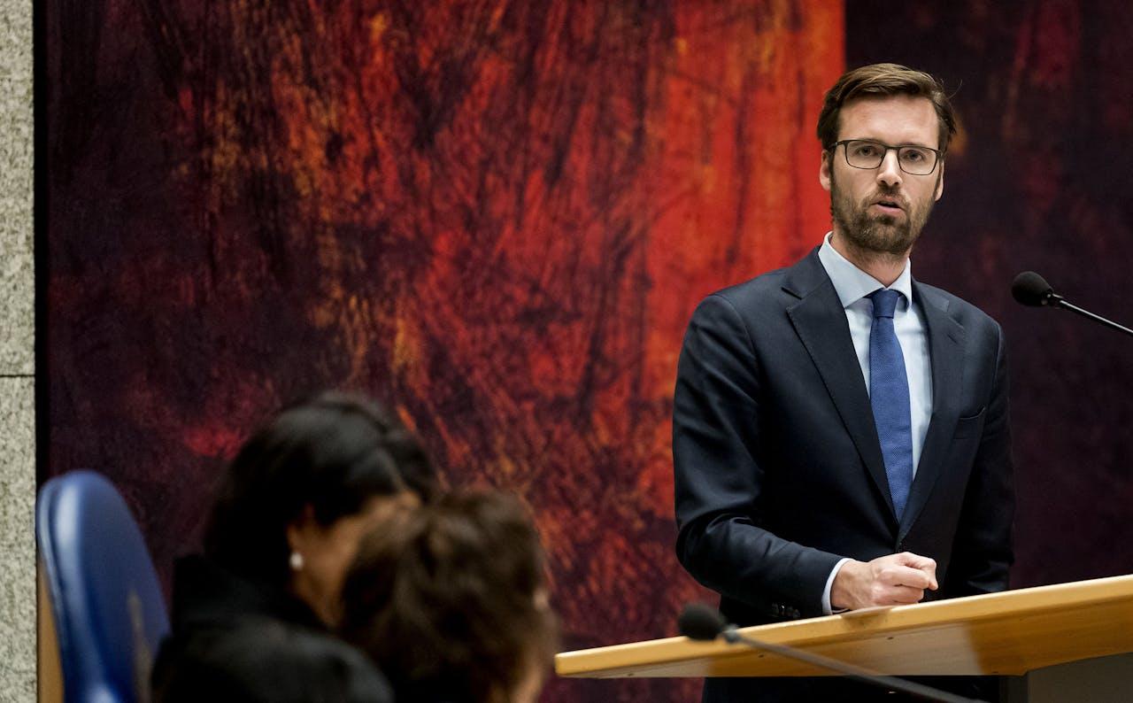 D66-Kamerlid Sjoerd Sjoerdsma
