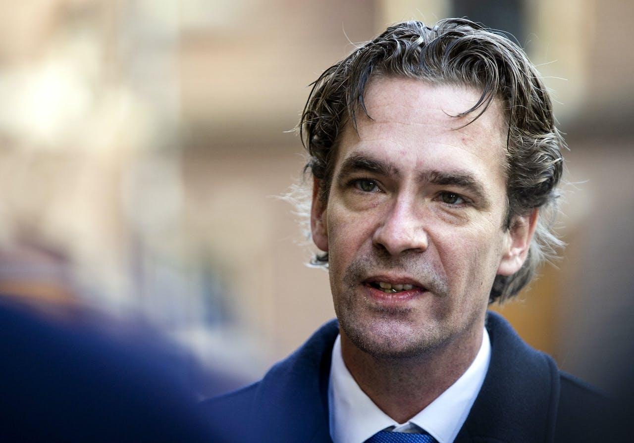 Bas van 't Wout, staatssecretaris van Sociale Zaken en Werkgelegenheid