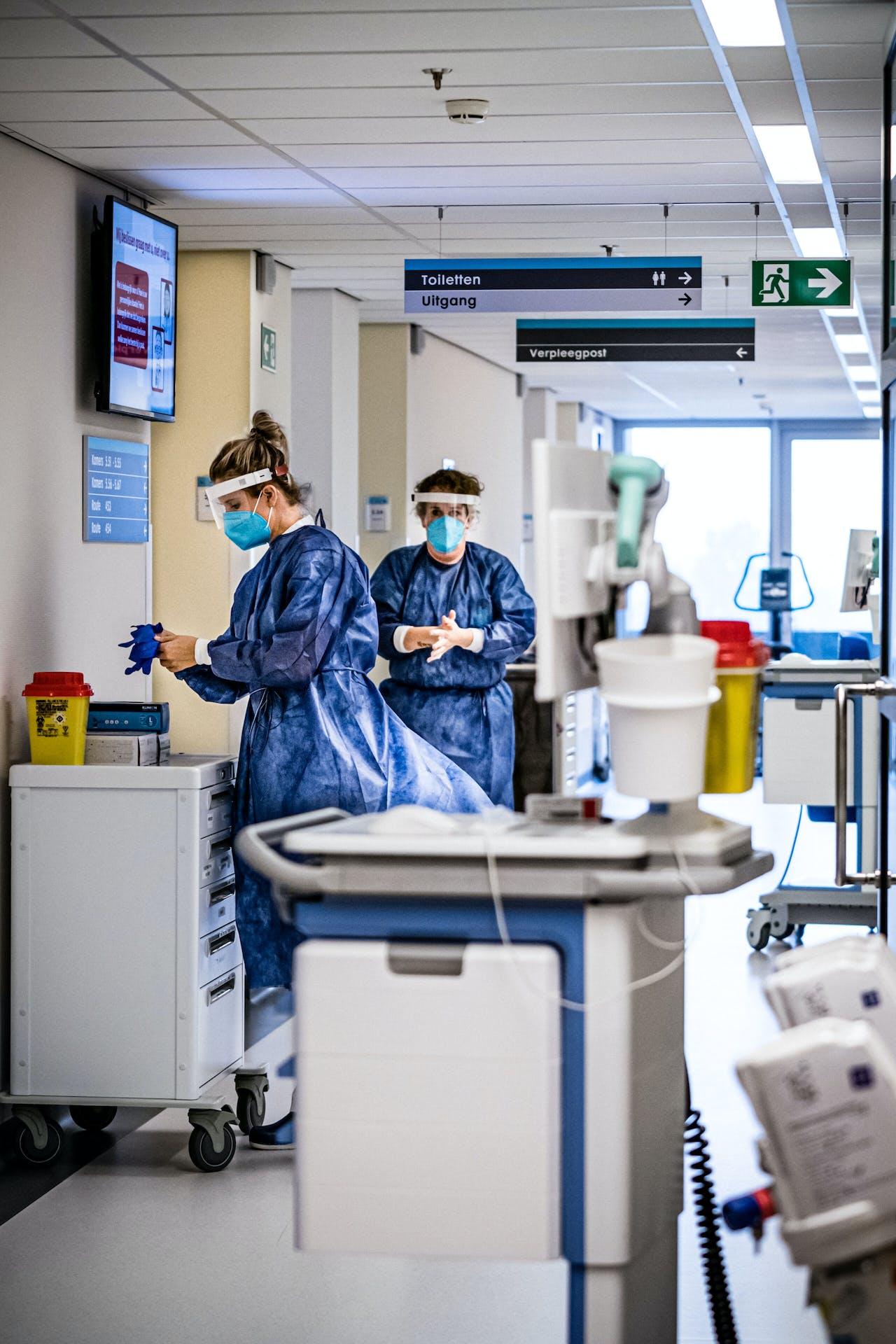 De cohortafdeling van het Catharina Ziekenhuis.
