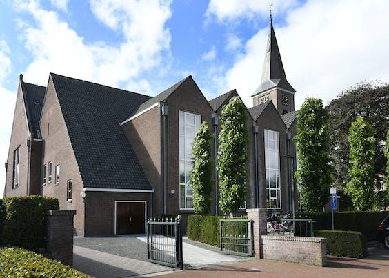 De Hersteld Hervormde Kerk in Staphorst.