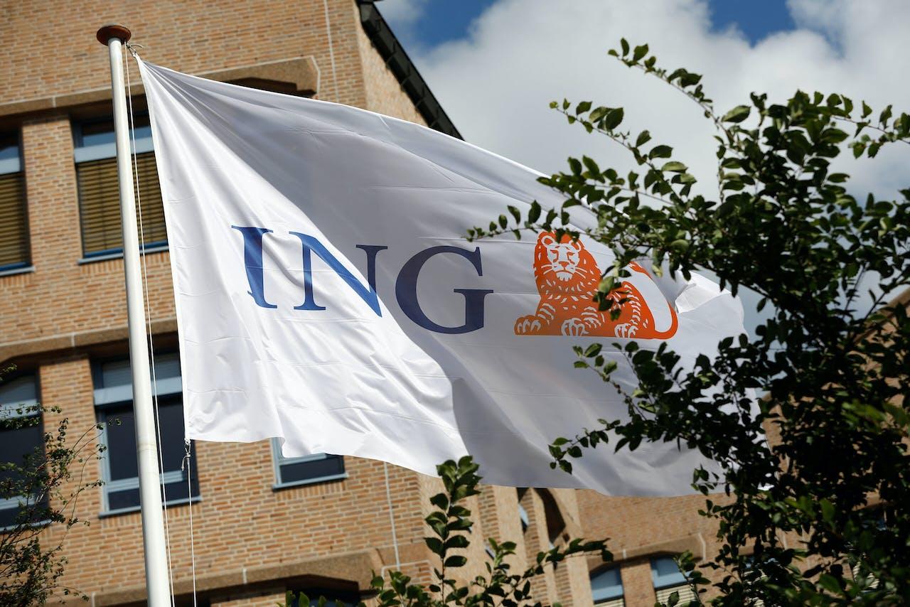 Exterieur van het hoofdkantoor van ING.