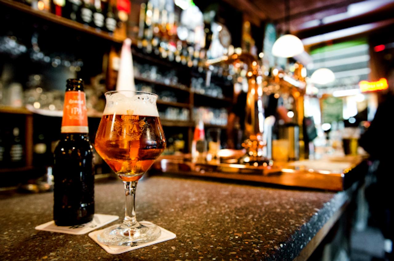 Een bierglas, niet hét bierglas. Foto ANP