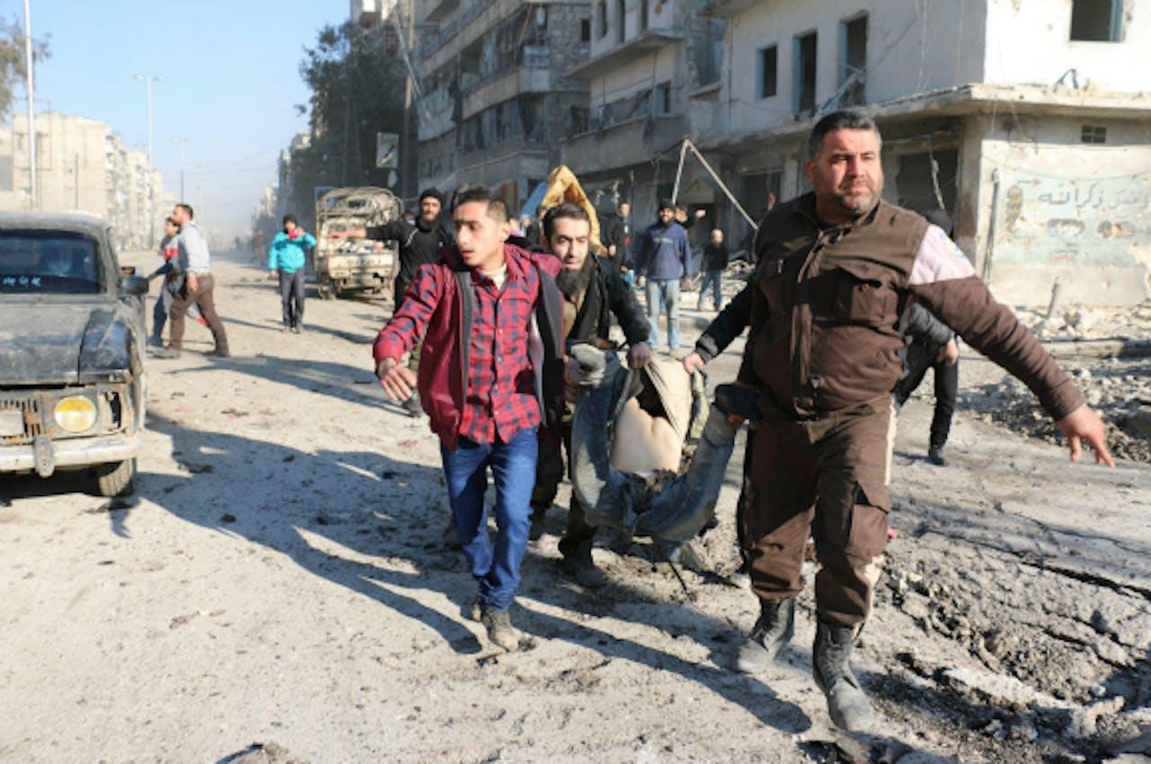 Aleppo, 8 februari 2016. Foto: ANP/AFP