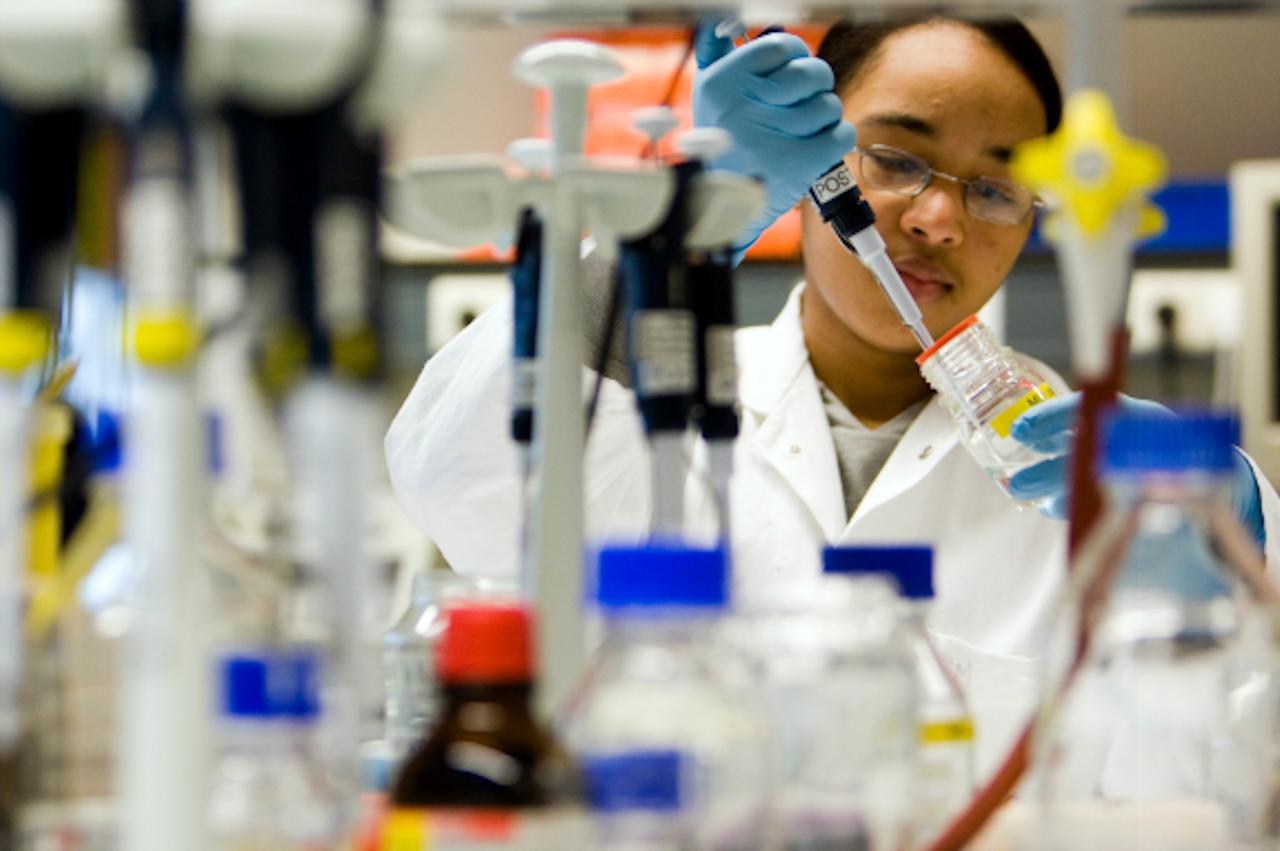 Het lab van Maastricht UMC+ (Foto: ANP)