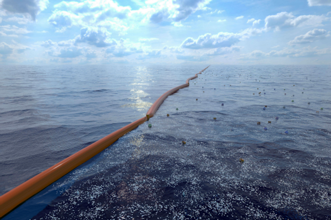 AFP PHOTO / THE OCEAN CLEANUP