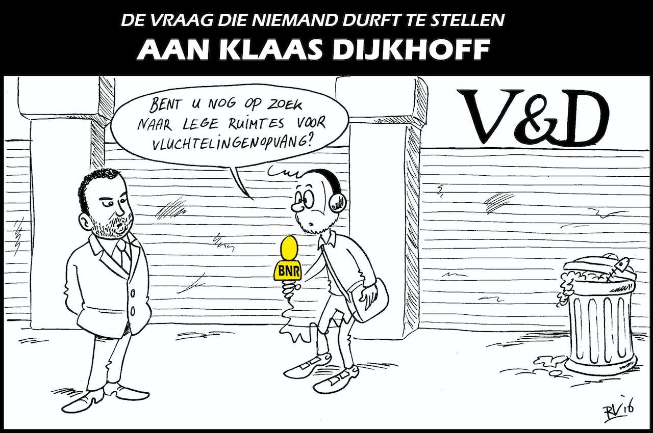 BNR Cartoon | De vraag die niemand durft te stellen