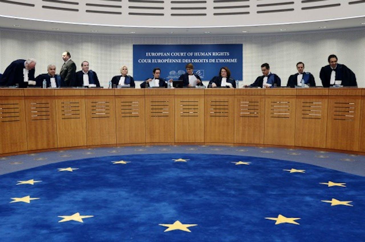 Het Europese Hof voor de Rechten van de Mens. Foto: ANP/AFP