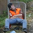 slaap lui werk ambtenaar