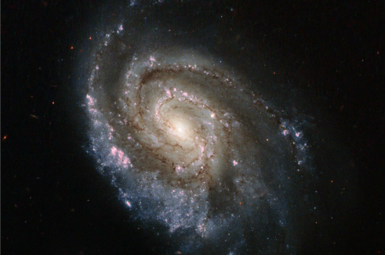 Een supernova vastgelegd door de Hubble-telescoop in 2013. Foto: ANP/EPA