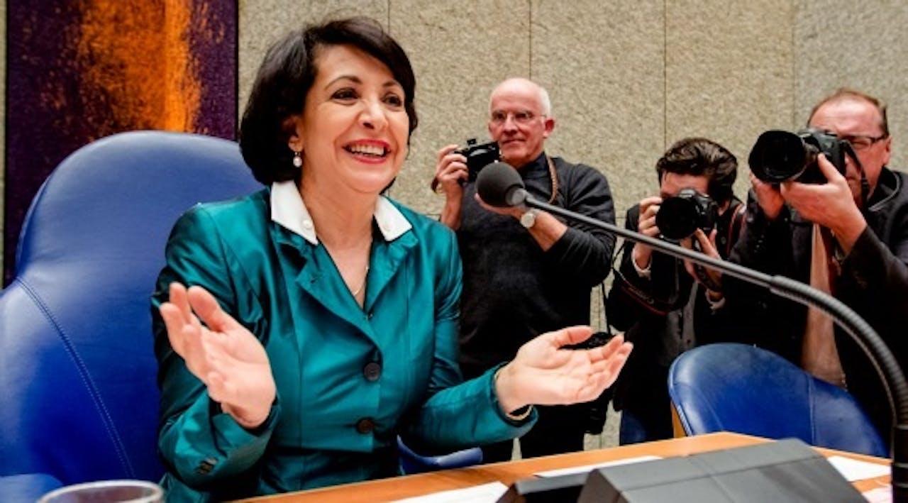 PvdA-Kamerlid Khadija Arib is de nieuwe voorzitter van de Tweede Kamer. Foto ANP