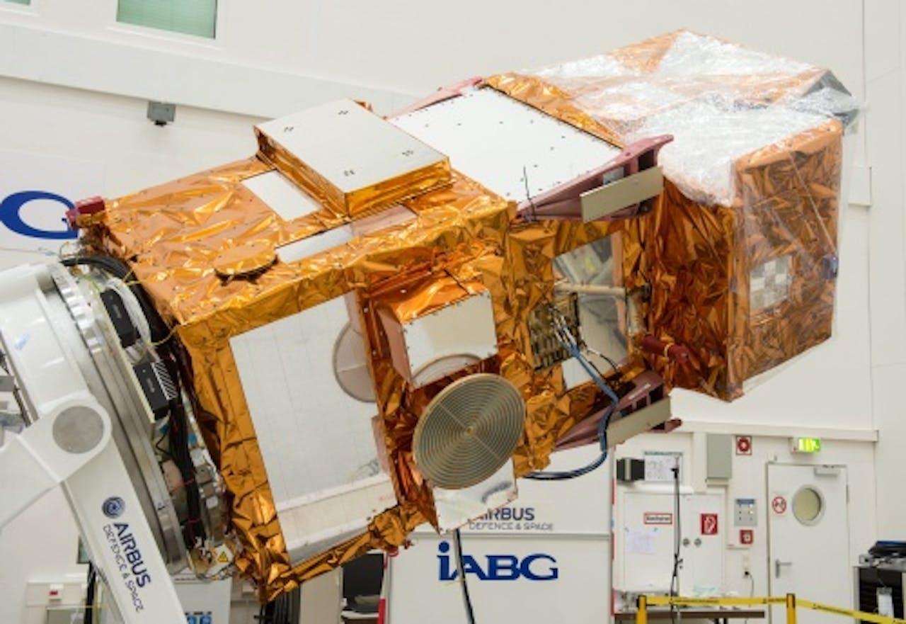(archieffoto, Sentinel-2A van ESA) EPA
