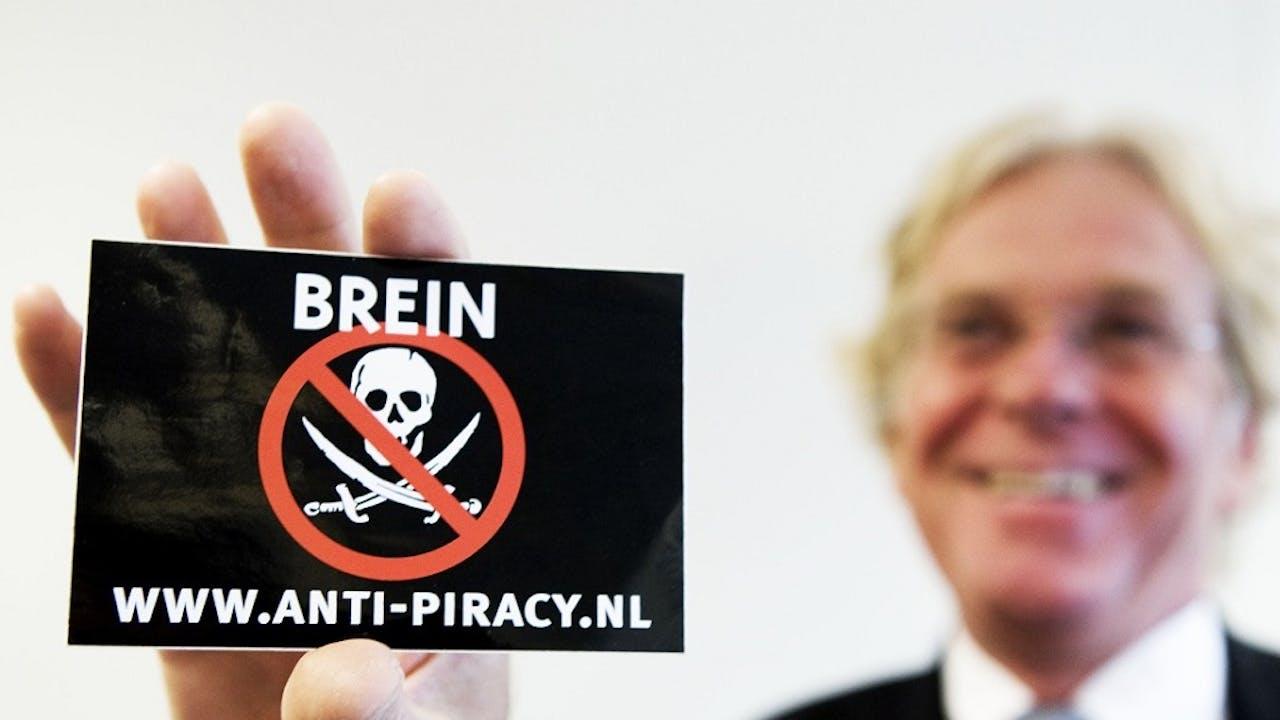 Directeur Stichting Brein Tim Kuik. Foto: ANP