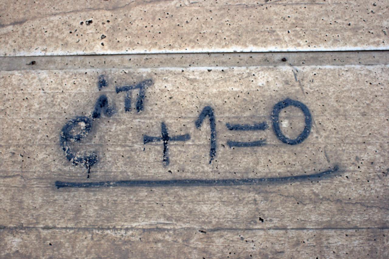 Graffiti math (Foto: Quinn Dombrowski, via Flickr)