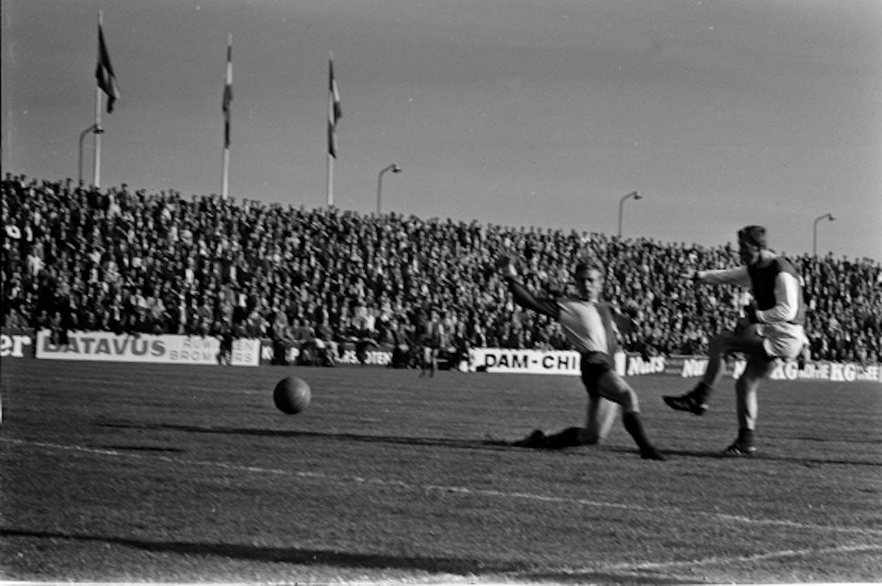 Fortuna S.C. tegen F.C. Twente in 1968. Foto: ANP