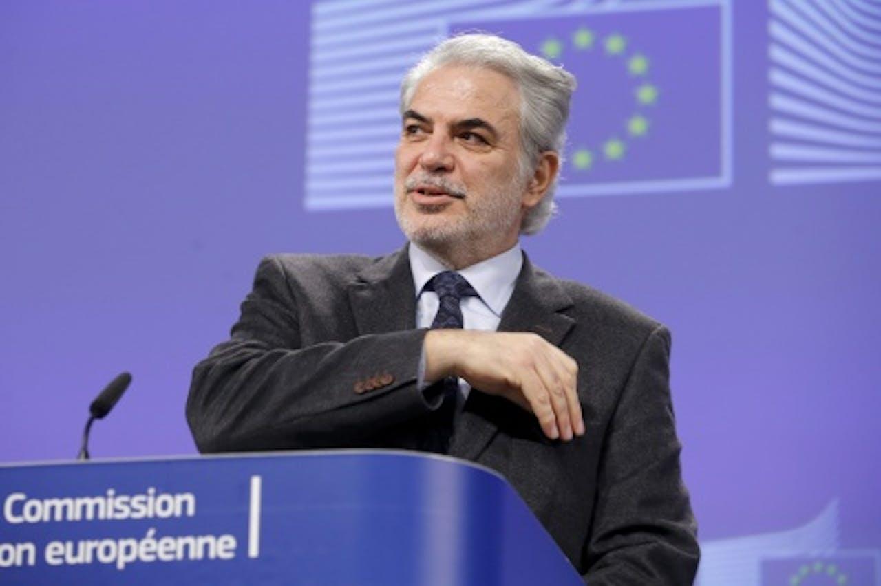 Christos Stylianides. EPA