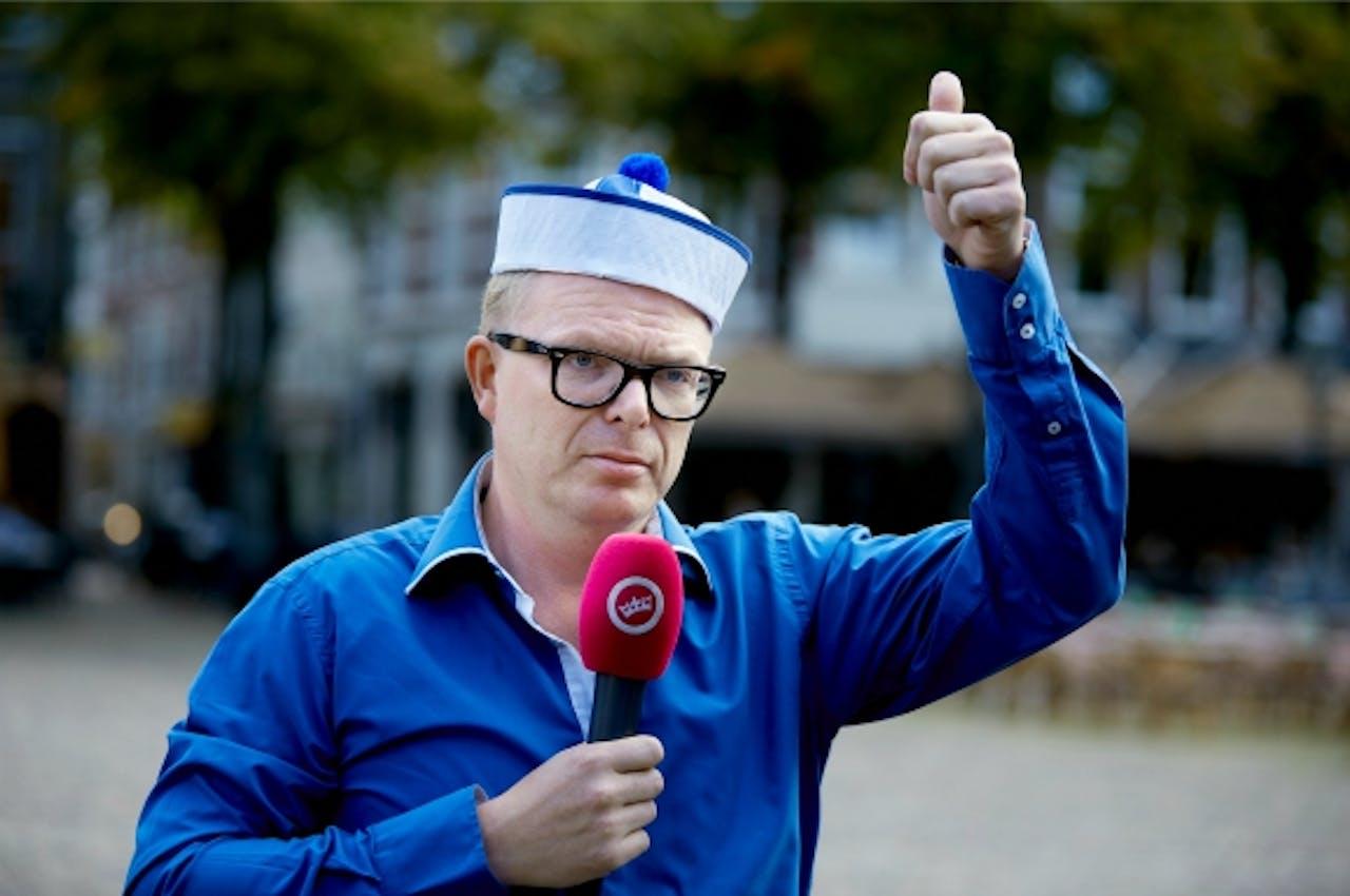 Jan Roos, gezicht van GeenPeil . Foto:ANP