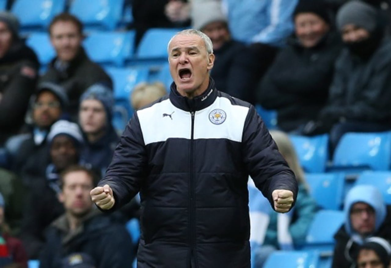 Leicester City manager Claudio Ranieri. EPA
