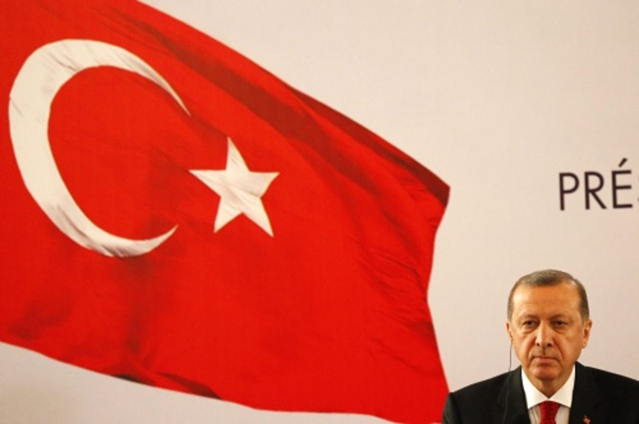 Tayyip Erdogan. EPA