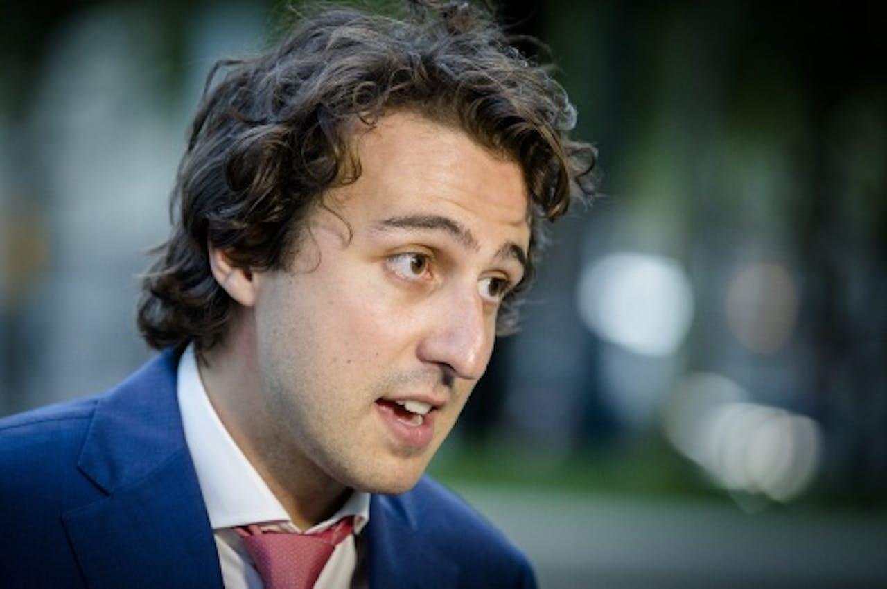 GroenLinks-fractievoorzitter Jesse Klaver. ANP