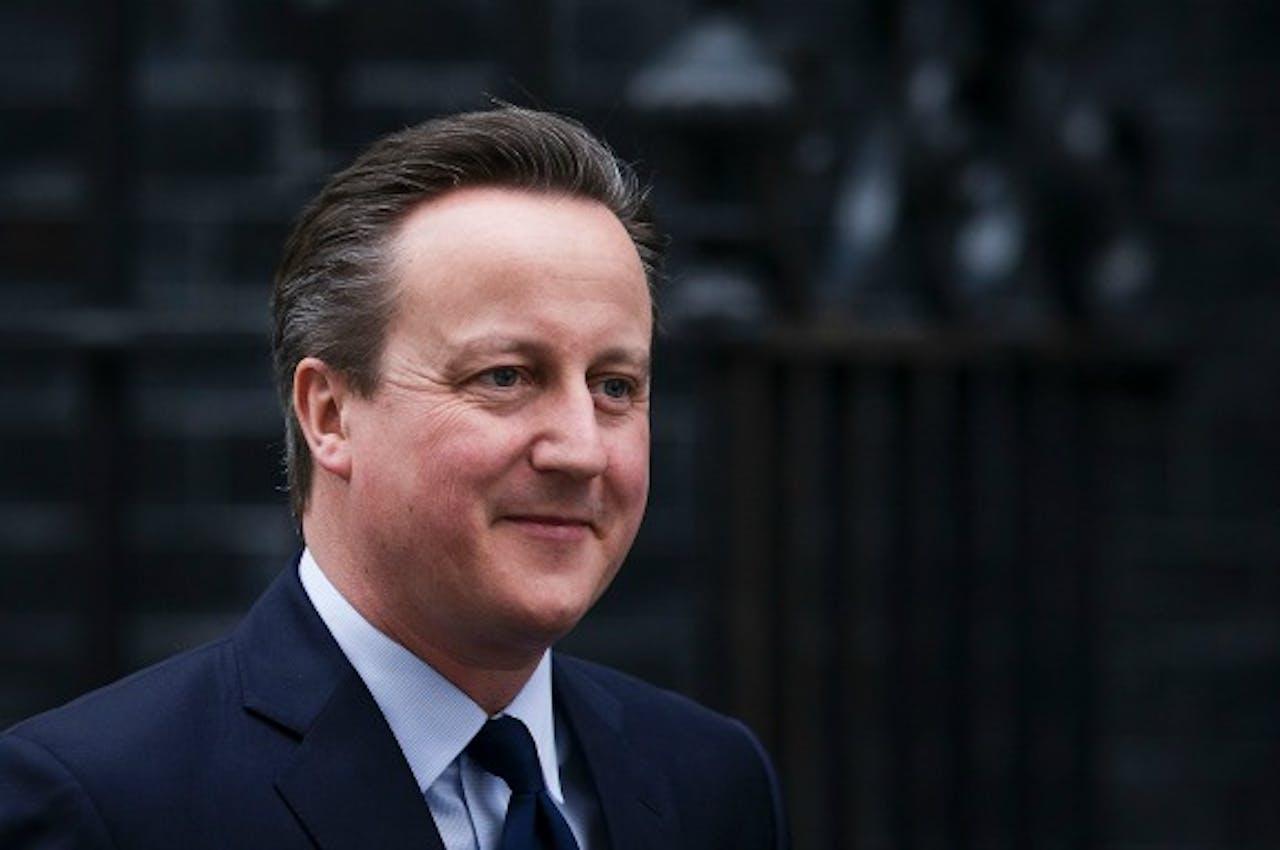 De Britse premier Cameron. Foto ANP