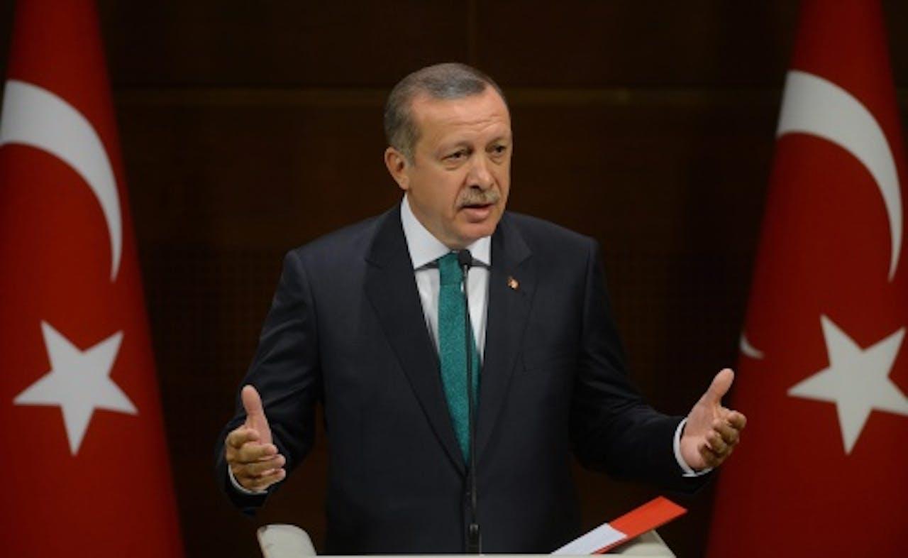 Recep Tayyip Erdogan. EPA