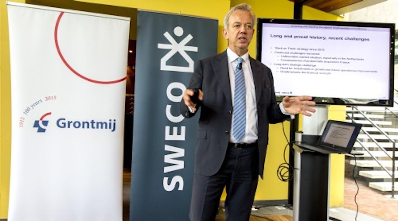 CEO van Grontmij, Michiel Jaski. ANP