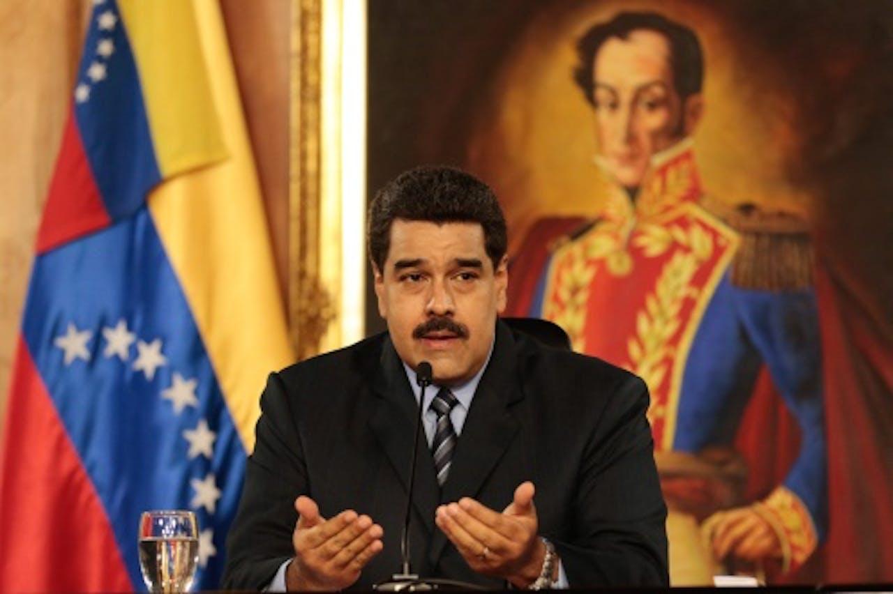 President Nicolas Maduro. EPA
