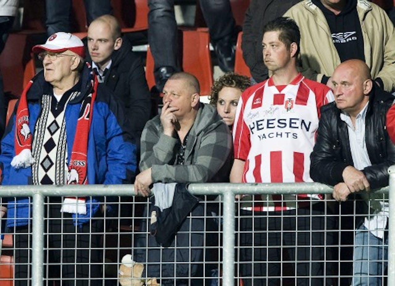 FC Oss-fans in 2010. Archieffoto ANP