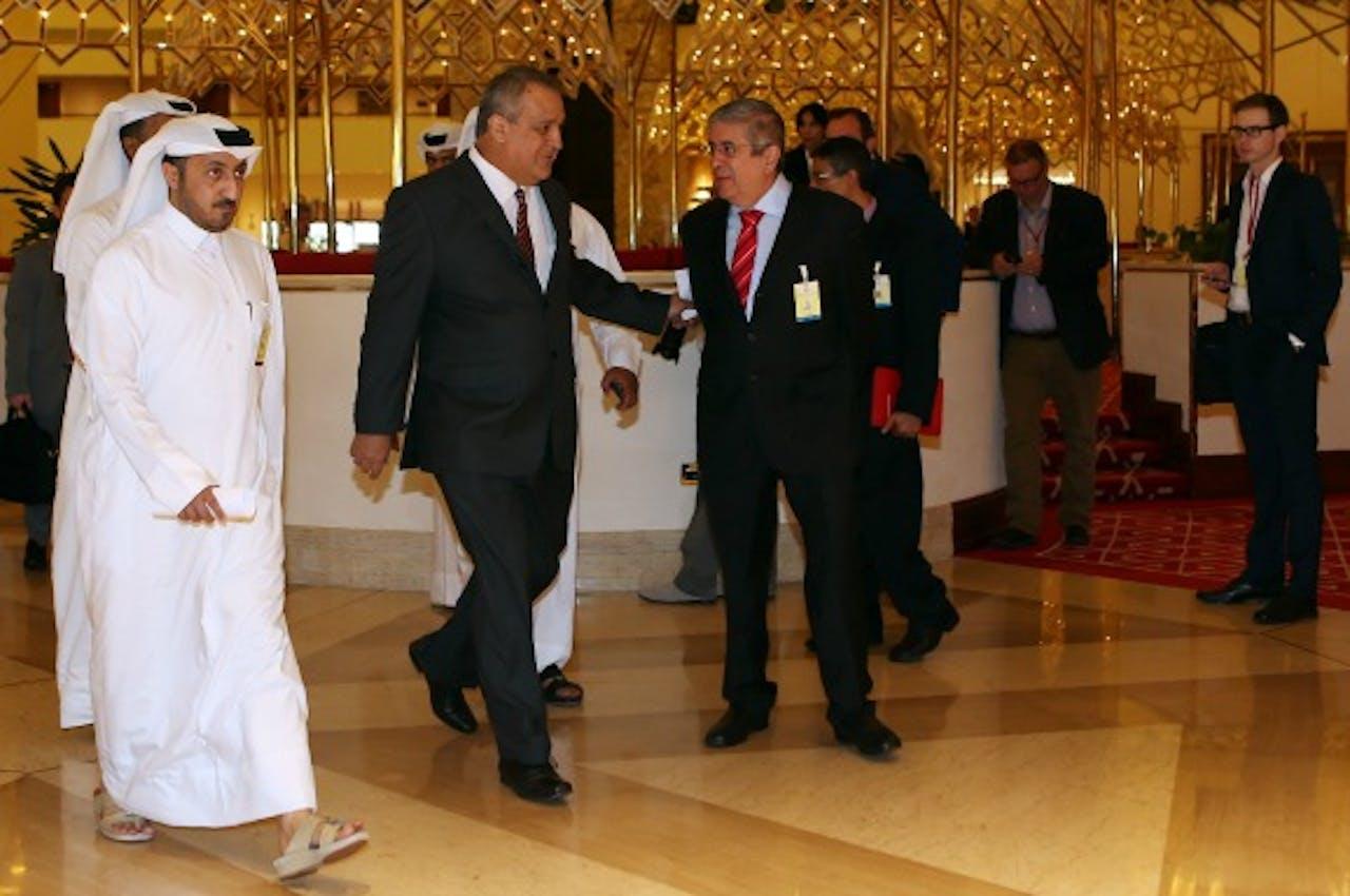 Foto: ANP - Minister Venezuela arriveert bij OPEC-vergadering