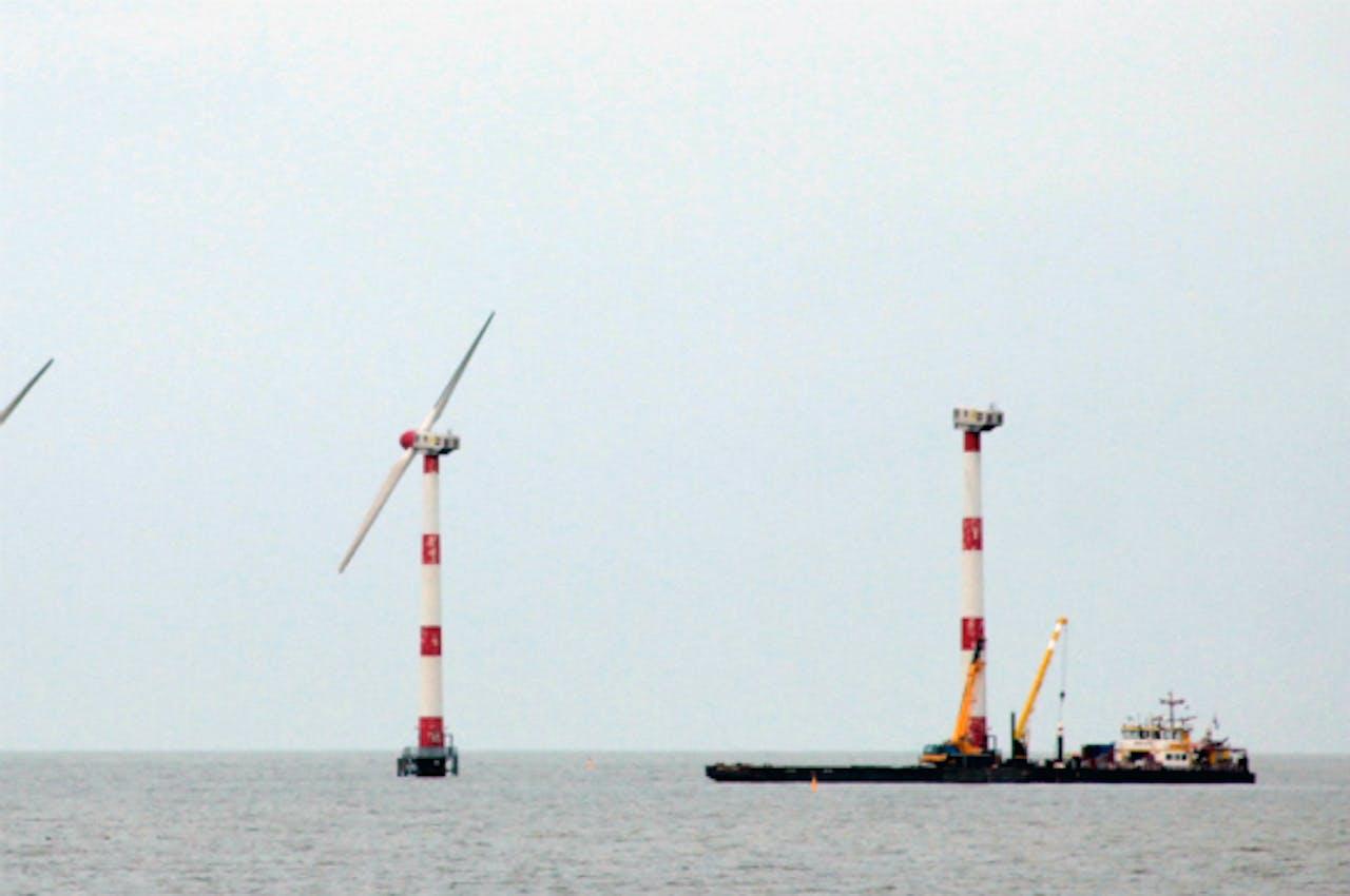 Foto: ANP - Windmolens bij Medemblik
