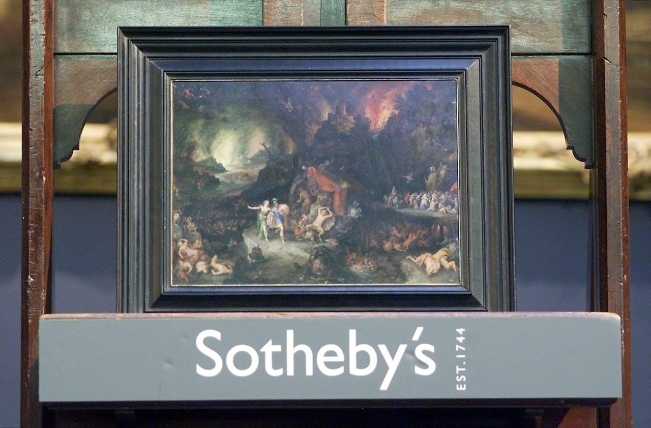 Foto: ANP - Schilderij uit een collectie van Sotheby's