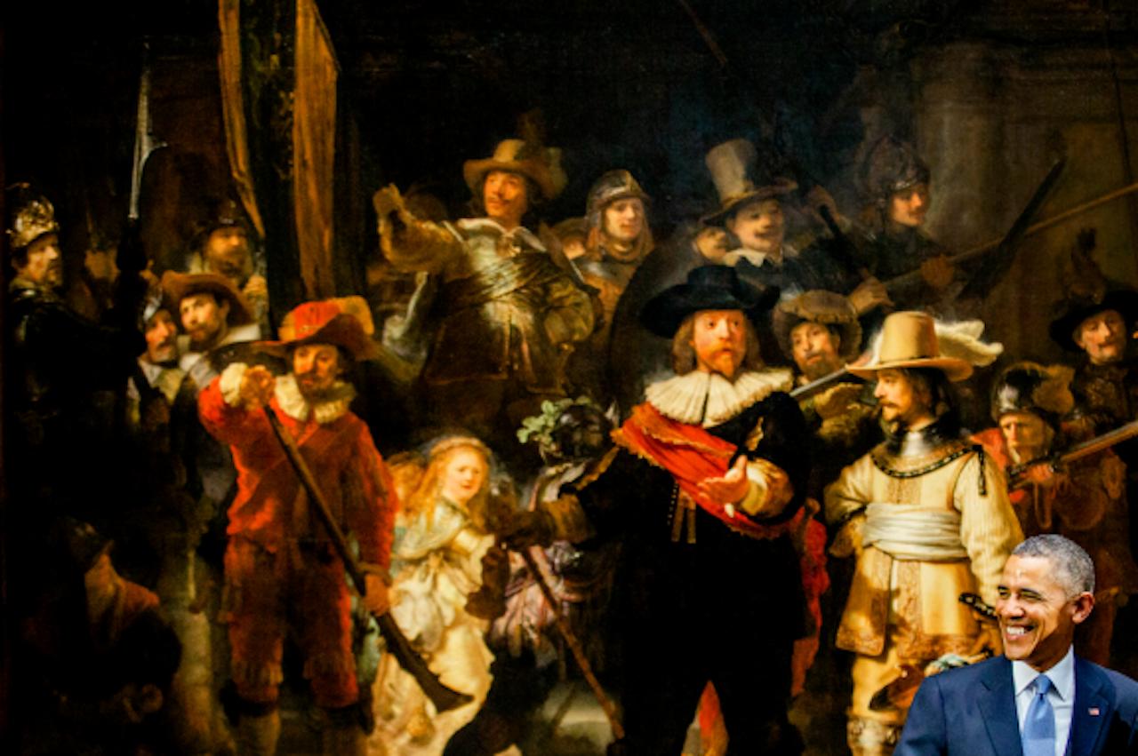 Een jaar geleden keek de Amerikaanse president Obama in Amsterdam naar onze schilders. Veel Nederlands-Vlaamse schilders kozen in de zeventiende eeuw juist voor Napels.