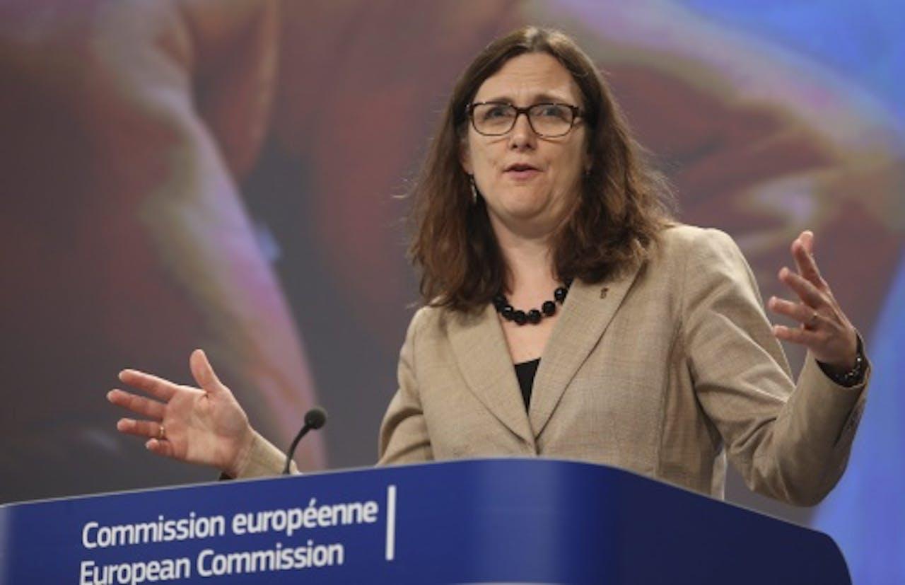 EU-commissaris Cecilia Malmström. EPA