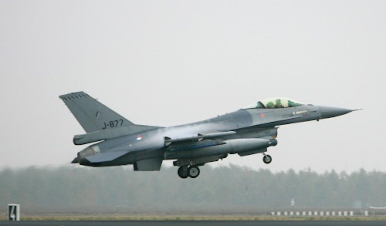 Een F-16. ANP